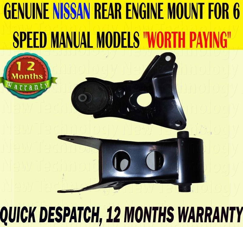 For Nissan Almera N16 / Almera Tino V10 Primera P12 2.2 Rear Engine Gearbox Mount